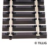 Tillig 83125 TT- Holzschwellenflexgleis
