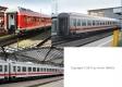 Trix T15887 N - Wagen-Set IC 60419 DB AG
