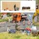 Busch 7807 H0-  Action Set: Baukreissäge