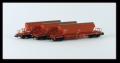 Kühn 93032 N -Set 3x , Kaliwagen Taoos 9331, rot, DB AG, Wagen, Epoche V