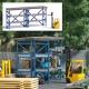 Busch 8848 TT - Action Set: Gabelstapler mit Hochregal
