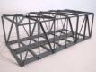 Hack Modellbahnartikel 11110 H0 - Kastenbrücke 21 cm rechteckig 2-gleisig